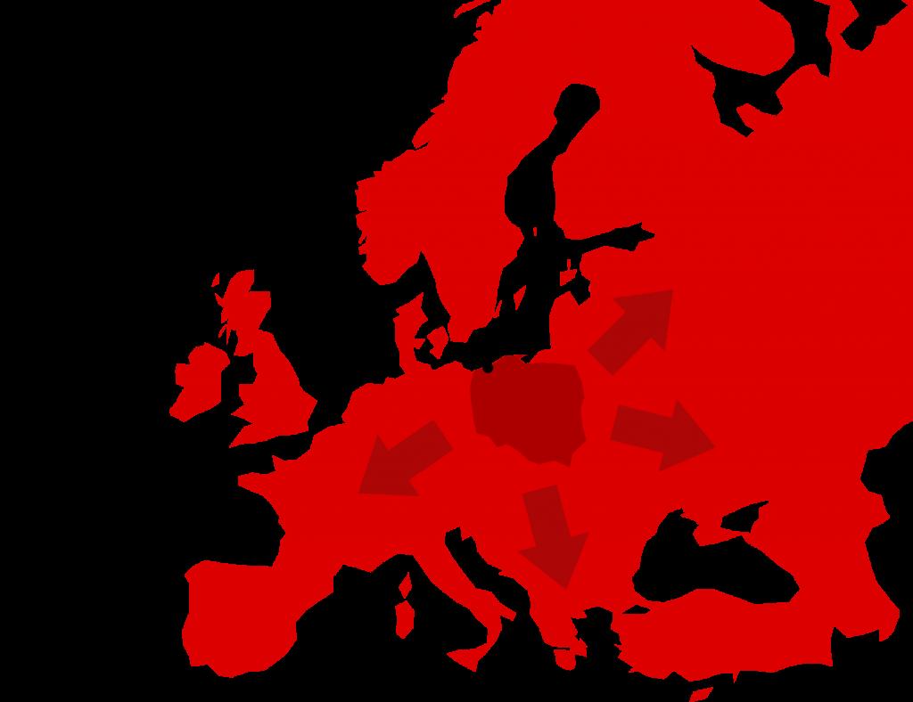wypożyczalnia samochodów Europa